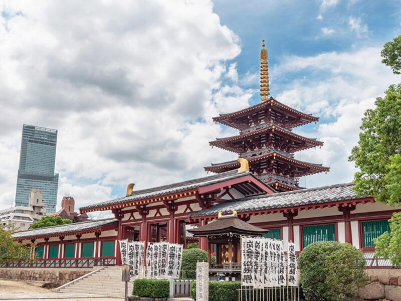 偉大なる大陸文化の伝承地・四天王寺